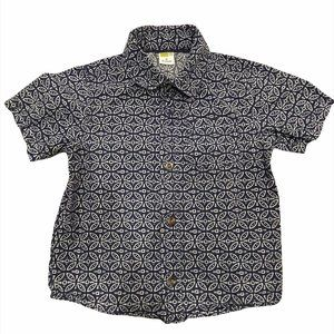 Crazy 8 Kids Short Sleeve Casual Shirt Size US 4T